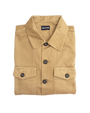 Two Ply Twill Mechanic Shirt - Beige