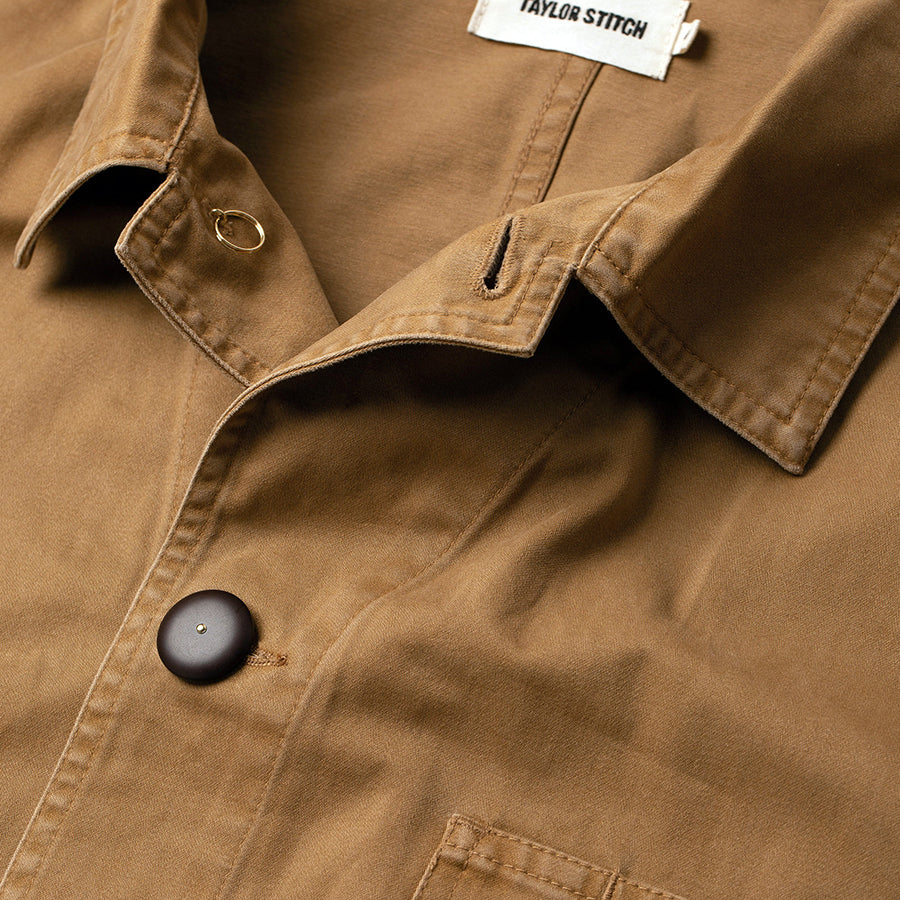 The Ojai Jacket - Tobacco