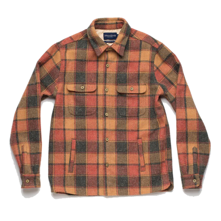 Alta Shirt Jac - Sierra Orange