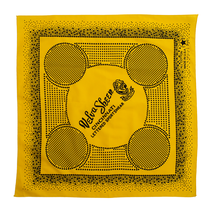 Dot Print Bandana - Yellow