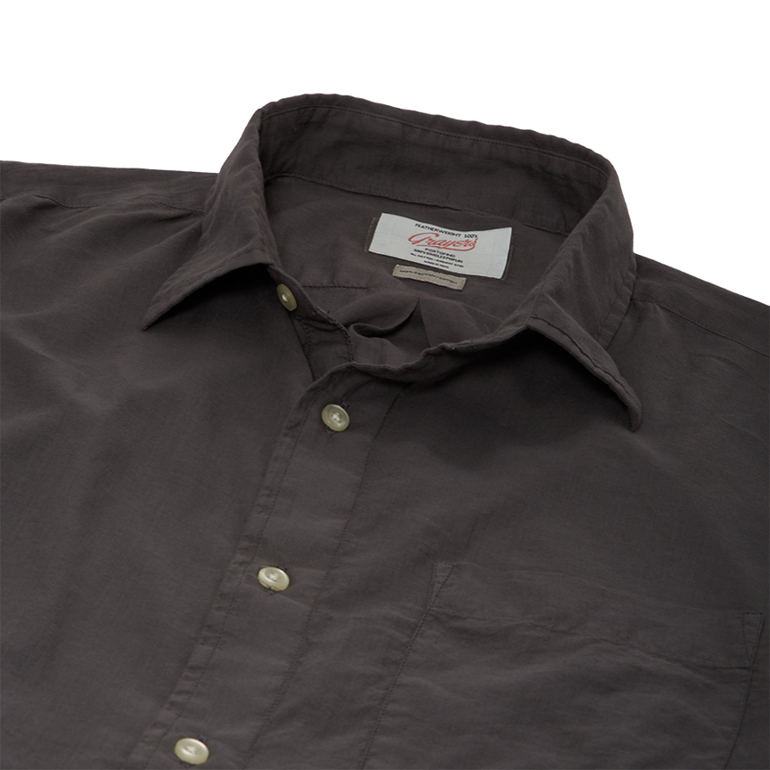 Portofino Featherweight Poplin - Forged Iron