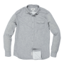 Hartford Double Cloth Button Up - Charcoal Heather