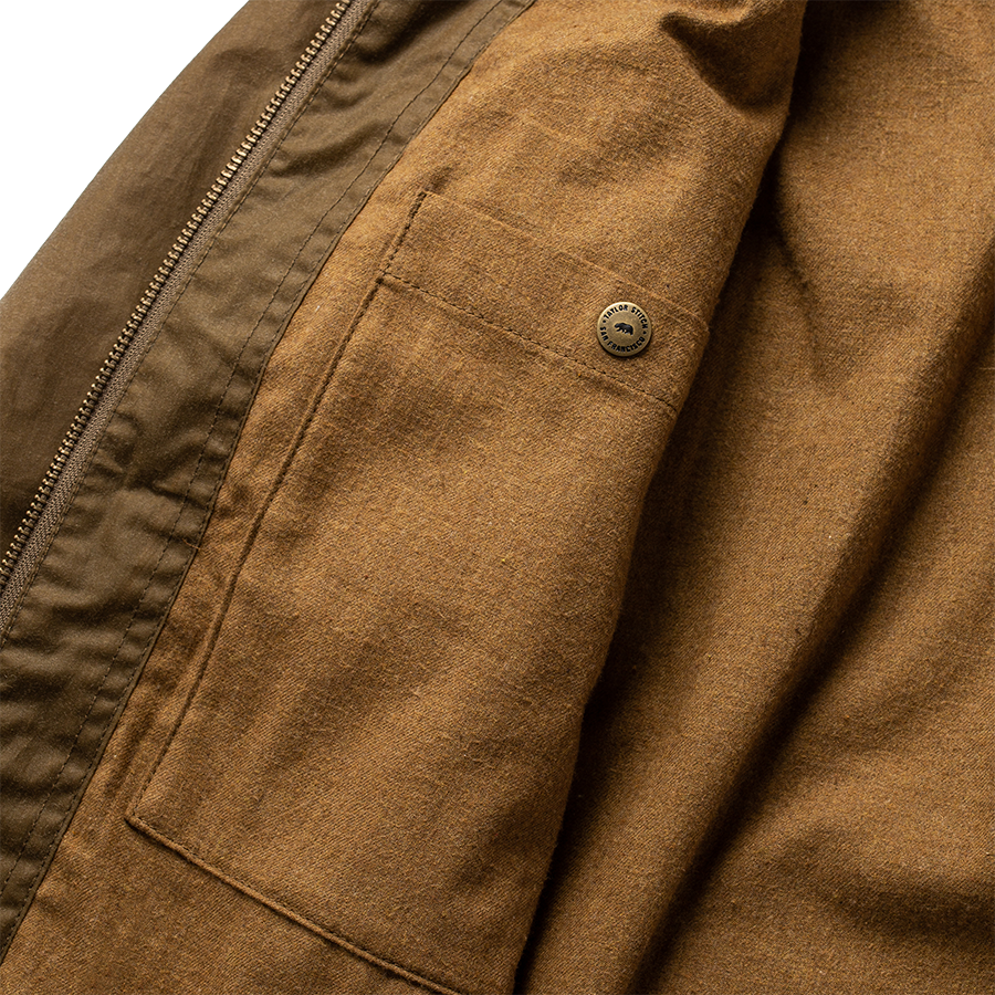 The Welterweight Winslow - Field Tan Waxed Canvas