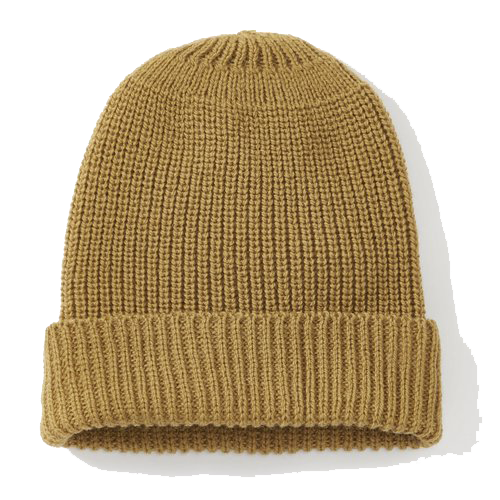 Porter Ribbed Beanie - Wheat