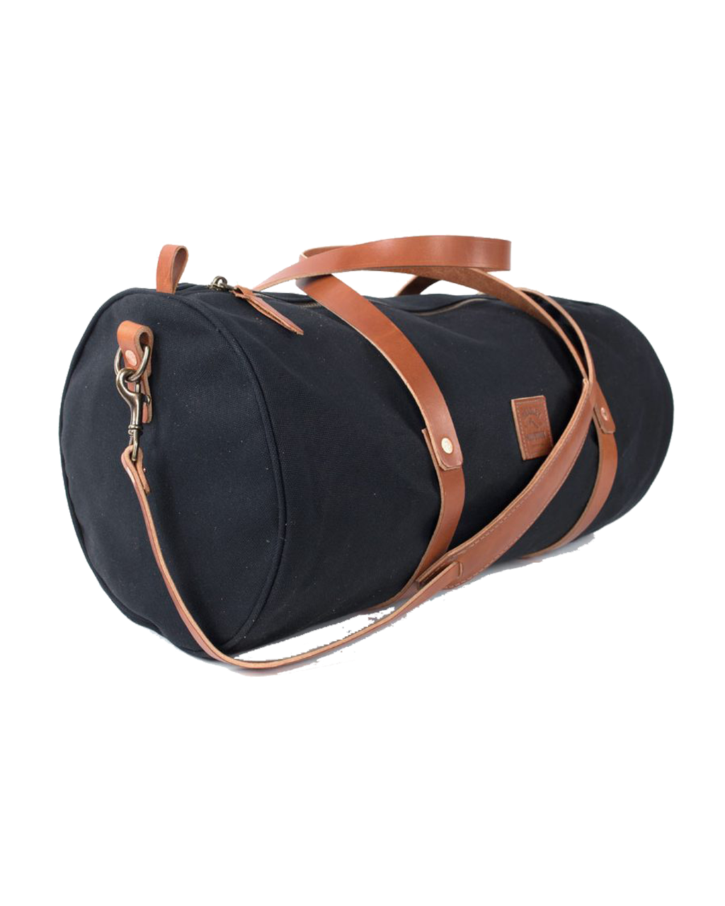 The Weekender Duffel w/Shoulder Strap - Black