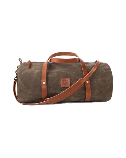 The Weekender Duffel w/Shoulder Strap - Field Tan