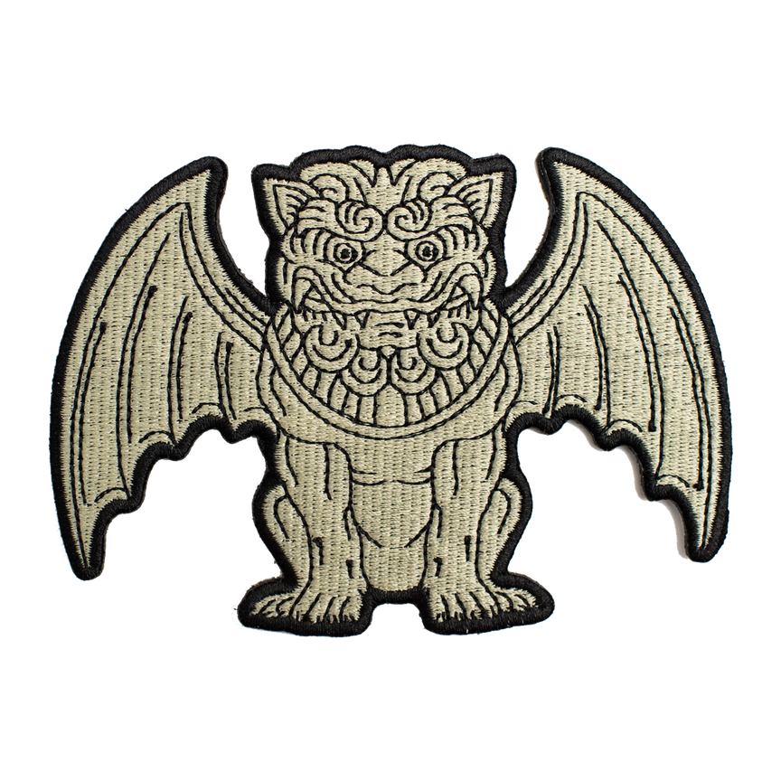 Gargoyle Patch - Cream