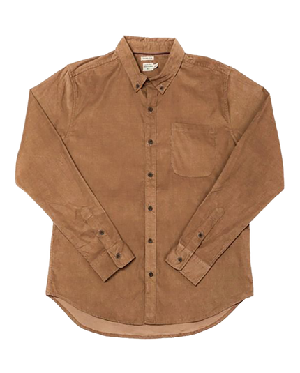 Sutton Shirt - Toffee Corduroy