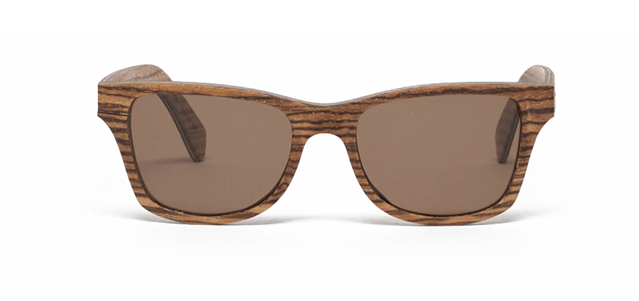 Canby: Zebrawood - Brown Polarized