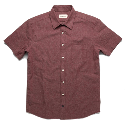 The S/S California - Burgundy Hemp