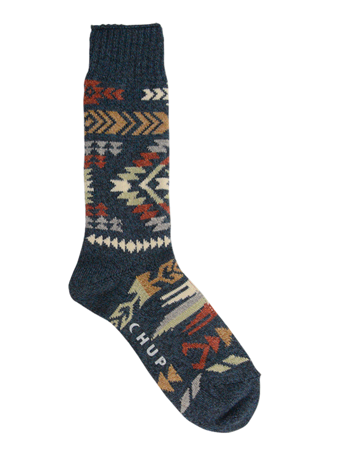 Atsa Crew Sock - Denim