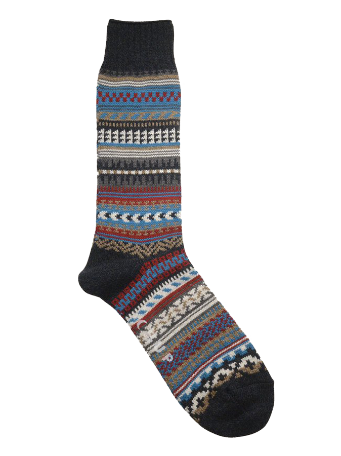 Butte Crew Sock - Anchor