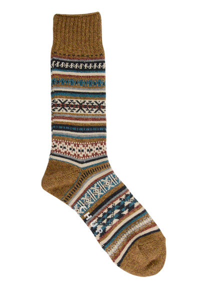 Tabiat Crew Sock - Brown