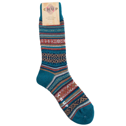 Inkle Crew Sock - Turkish Blue