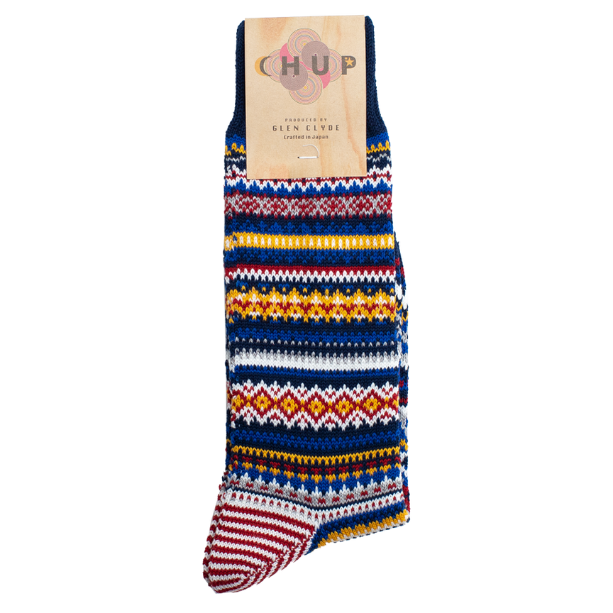Porvo Crew Sock - Space Blue