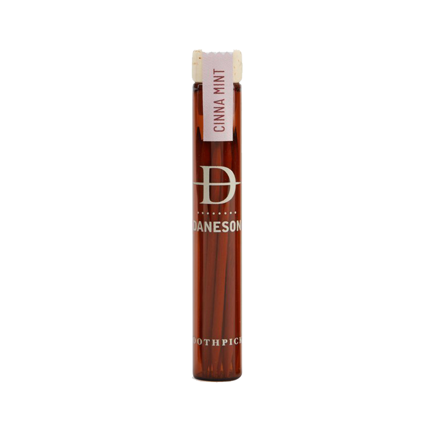 Hardwood Toothpicks - CinnaMint No. 7