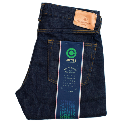 12.5oz - Africa Cotton Circle Selvedge - Tapered Fit - J204