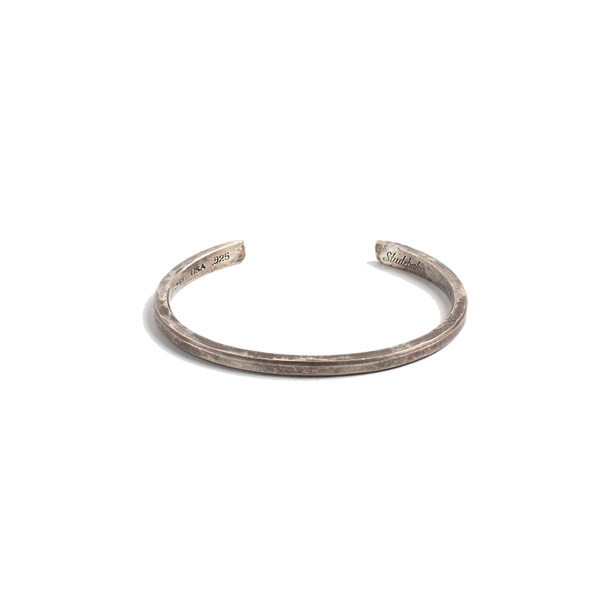 The Classic Cuff - Work Patina - Sterling Silver