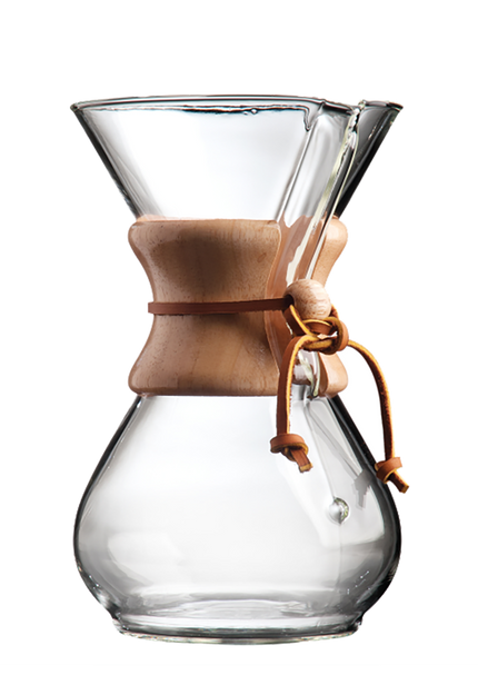 Chemex 6 Cup Coffeemaker - Original Leather