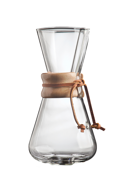 Chemex 3 Cup Coffeemaker - Original Leather