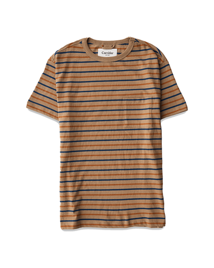 Stripey T-Shirt - Taupe