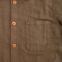 Open Weave Over Shirt - Olive