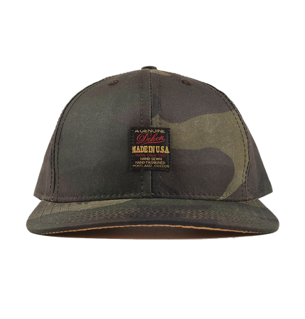 1920 Label Baseball Hat - Waxed Camo