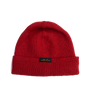 Wool Knit Watch Cap - Forster Red