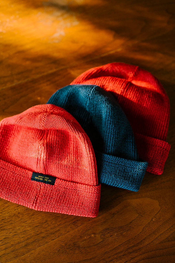 Wool Knit Watch Cap - Centennial Blue