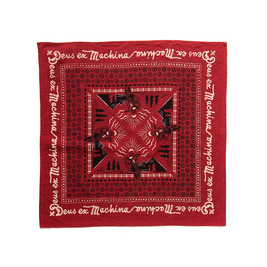 Manuel Bandana - Chilli Red