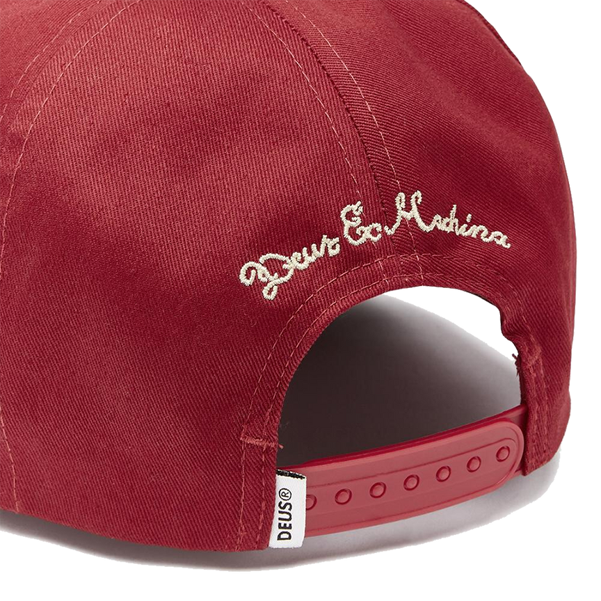 Benzin Baseball Hat - Dark Red