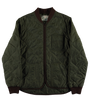 Frostbite Quilted Nylon Jacket - Khaki/Brown