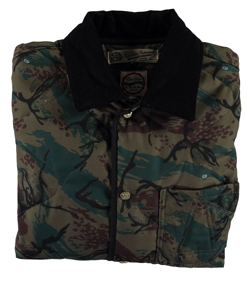 Frostbite Quilted Nylon Jacket - 673 Camo