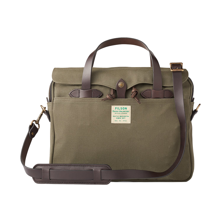 Ducks Unlimited - Original Briefcase - Otter Green