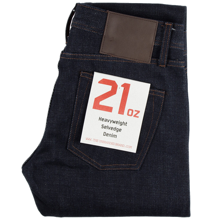 21oz - Heavyweaight Selvedge Denim - Tight Fit