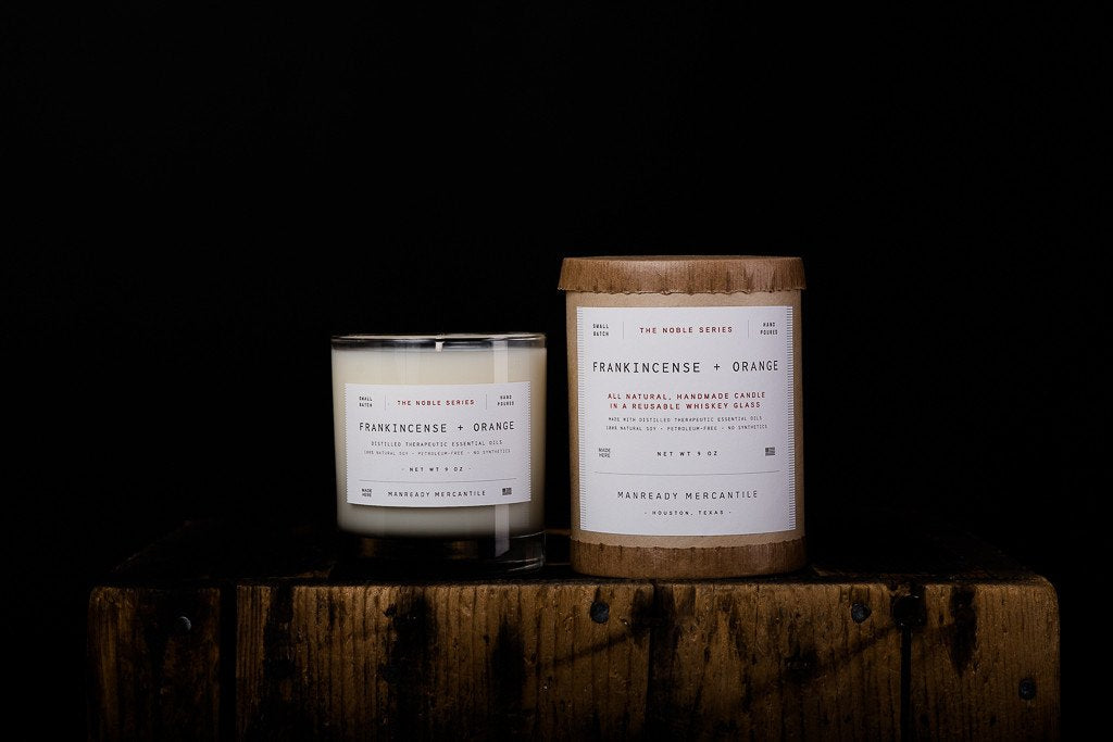 Noble Series Candle - Frankincense + Orange