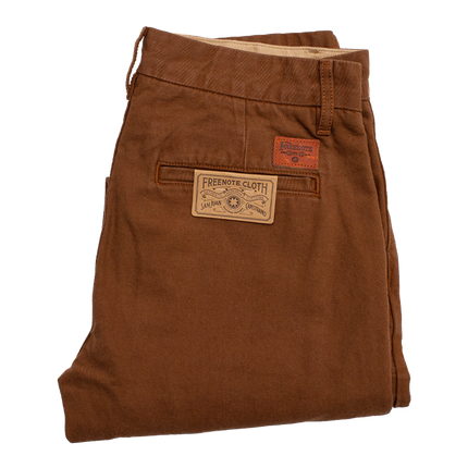 Workers Chino Slim Straight - Rust