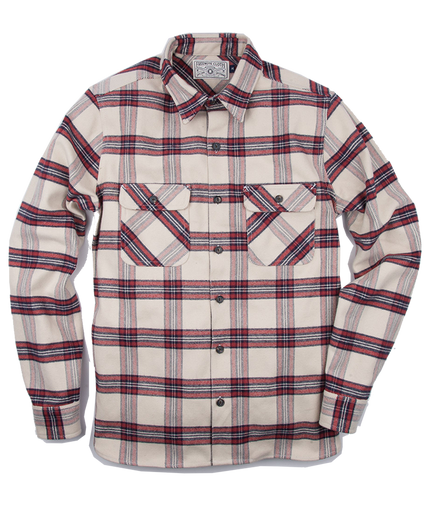 Benson Flannel - Cream