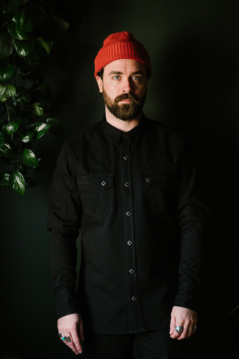 Calico Shirt - Black