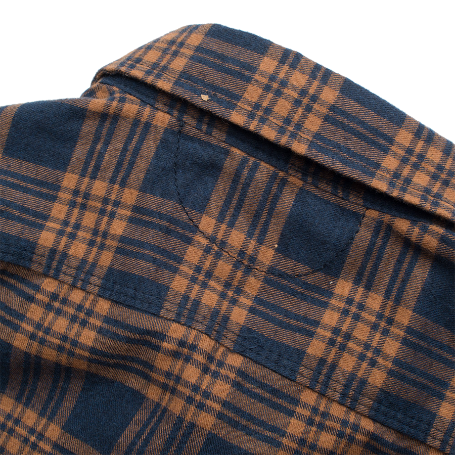 Jepson Flannel - Adobe Navy Check