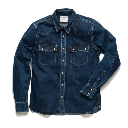 Modern Western Shirt - 11oz Wash Denim