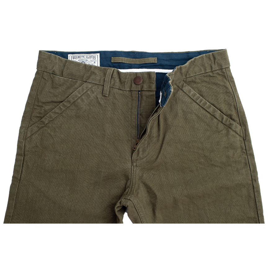 Workers Chino Slim Straight - Army