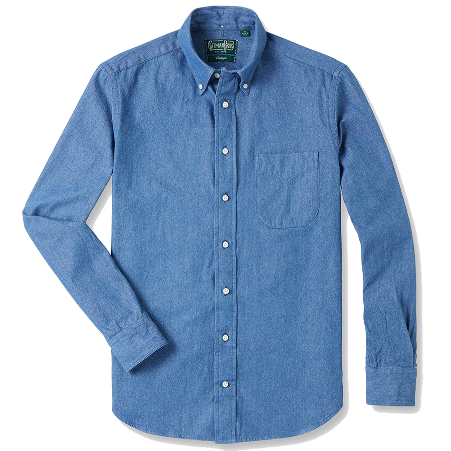 Classic Shirt - Light Denim