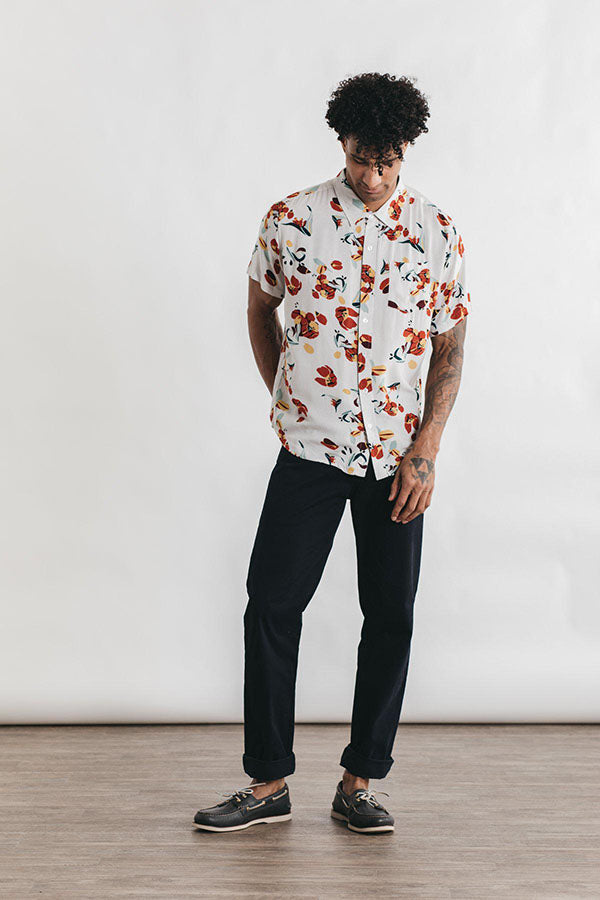 Harbor Shirt - Tulip Print