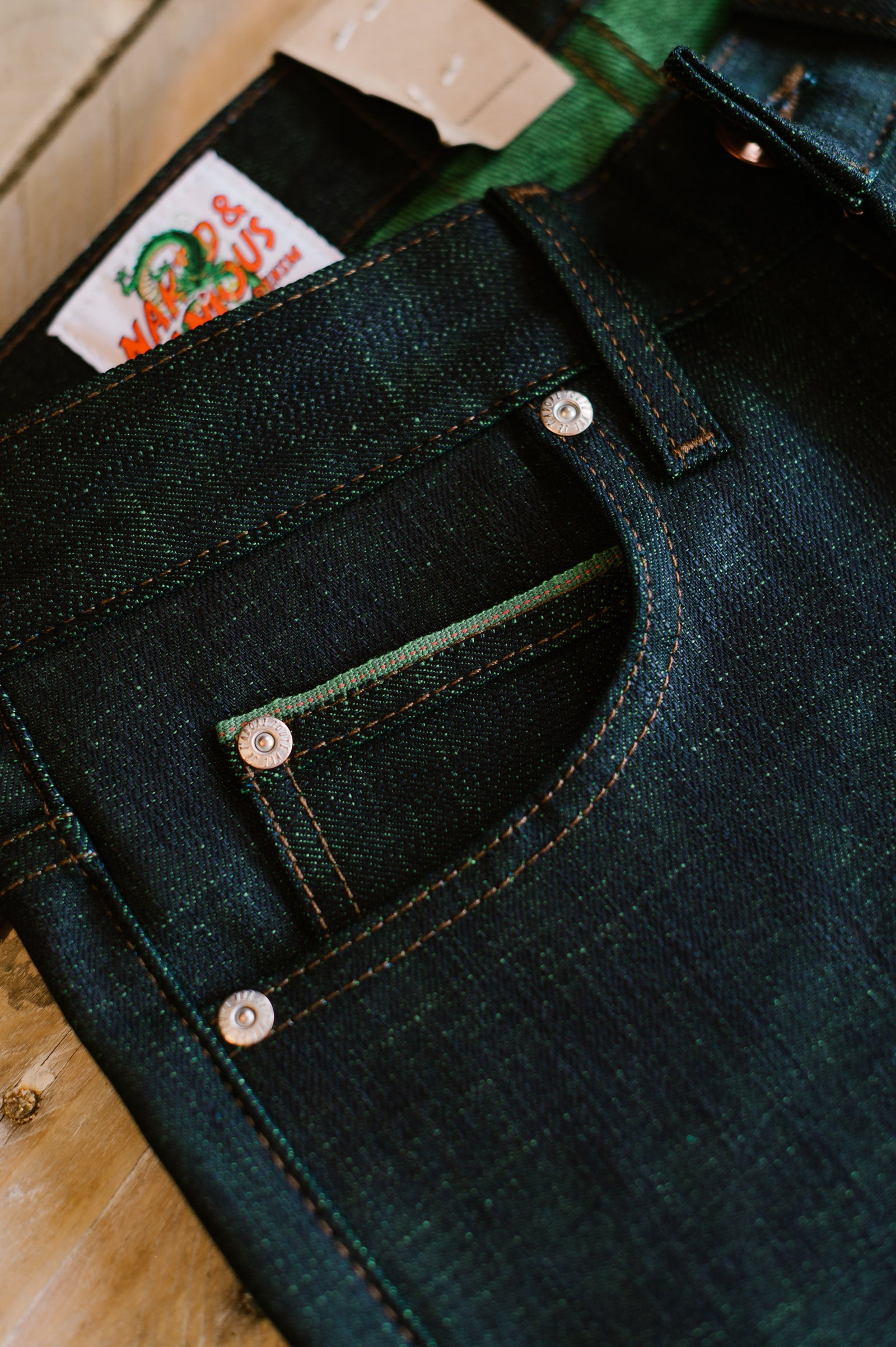 12.5oz - Cell Perfect Selvedge - Super Guy