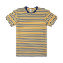 Berties Stripe Tee - Golden Haze