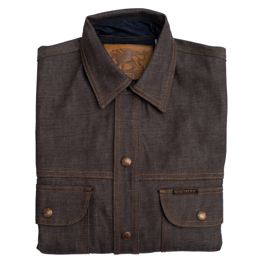 Fargo Low Desert Denim Jacket - Brown