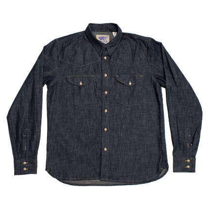 6.5oz Manolito Shirt Sanyati Denim - Indigo