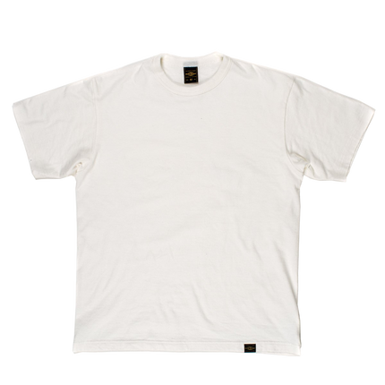 IHT-1610S - 6.5oz Loopwheel Crew Neck T-Shirt - Off White