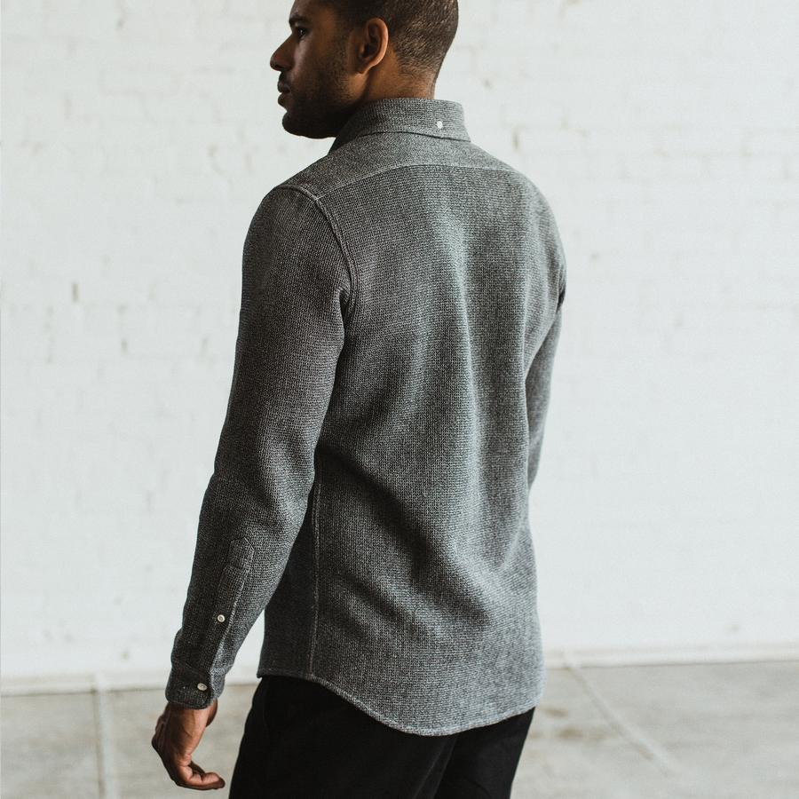 The L/S Jack - Heather Ash Waffle